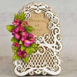Heartfelt Creations Lattice Swirl Gateway -stanssisetti