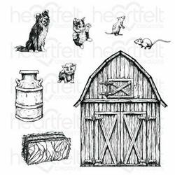 Heartfelt Creations Home on the Farm -leimasin
