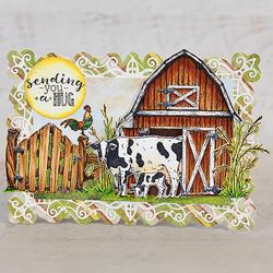 Heartfelt Creations Home on the Farm -stanssisetti