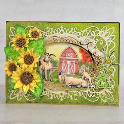 Heartfelt Creations Happy Meadows -leimasin