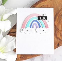 Time For Tea stanssi Mini Rainbow Shaker