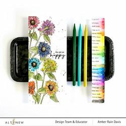 Altenew Woodless Watercolor Pencil 24 - vesivärikynät