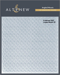 Altenew 3D kohokuviointikansio Angled Mosaic