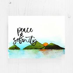 Altenew Peaceful Serenity -leimasinsetti