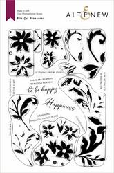 Altenew Blissful Blossoms -leimasinsetti