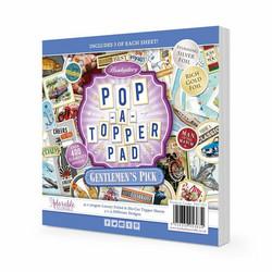 Hunkydory Pop-A-Topper -korttikuvapakkaus Gentlemen's Pick