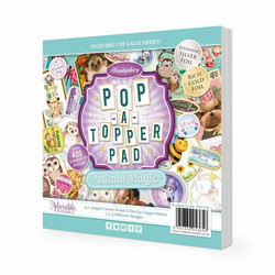 Hunkydory Pop-A-Topper -korttikuvapakkaus Animal Magic