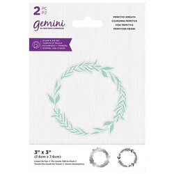 Gemini leimasin- ja stanssisetti Primitive Wreath