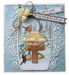 Joy! crafts Birdhouse -stanssisetti