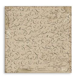 Stamperia Calligraphy skräppipaperi Vintage Pens