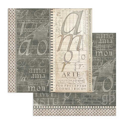 Stamperia Calligraphy skräppipaperi Book