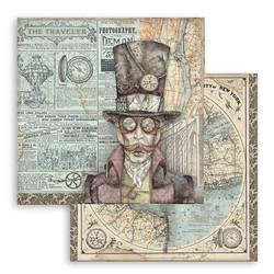 Stamperia Sir Vagabond skräppipaperi Sir Vagabond