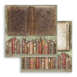 Stamperia Lady Vagabond skräppipaperi Vintage Books