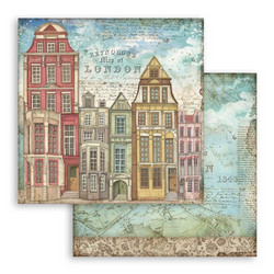 Stamperia Lady Vagabond skräppipaperi London Houses