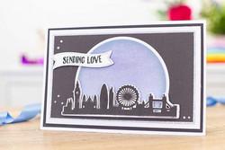 Gemini kohokuviointikansio Best Of British, London Skyline