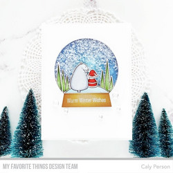 My Favorite Things Classic Snow Globe -stanssi