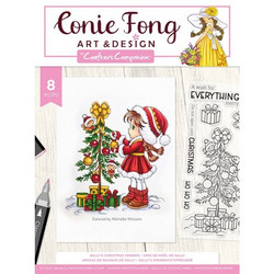 Crafter's Companion Conie Fong leimasinsetti Sally's Christmas Friends