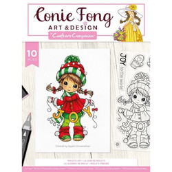 Crafter's Companion Conie Fong leimasinsetti Molly's Joy