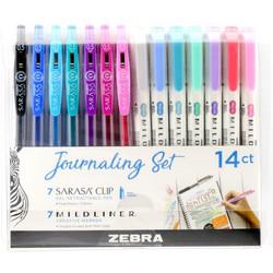 Zebra Mildliner Journaling -kynät