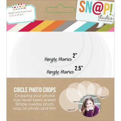 Simple Stories Sn@p! Circle Photo Crops