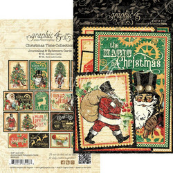 Graphic45 Christmas Time Ephemera -leikekuvat