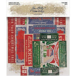 Tim Holtz Idea-Ology Vignette Box Tops -kannet