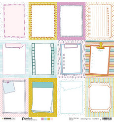 Studio Light skräppipaperi Essentials Planner Scrap Collection 116