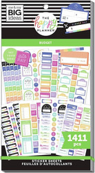Mambi Happy Planner Value Pack -tarrapakkaus Budget Goals