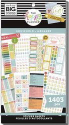 Mambi Happy Planner Value Pack -tarrapakkaus Household