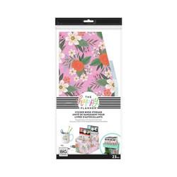 Mambi Sticker Storage Box -säilytyslaatikko tarrakirjoille, All Over Floral