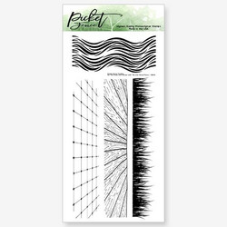 Picket Fence leimasinsetti A2 Tall Grass and Waves with Tiles and Wood Floors