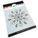 Catherine Pooler sapluuna Embroidered Snowflake