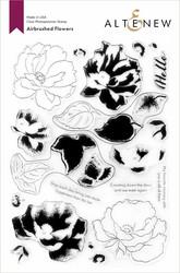 Altenew Airbrushed Flowers -leimasinsetti