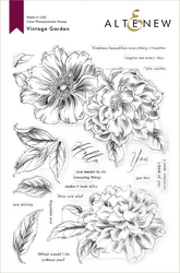 Altenew Vintage Garden -leimasinsetti