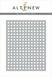 Altenew Grid Cover -stanssi