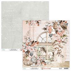 Mintay skräppipaperi Florabella 01