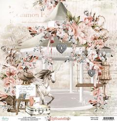 Mintay skräppipaperi Florabella 02