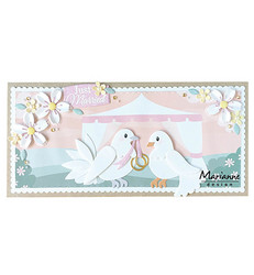 Marianne Design stanssisetti Eline's Pigeons