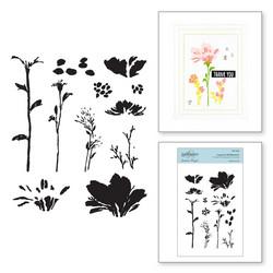Spellbinders leimasinsetti Layered Wildflowers