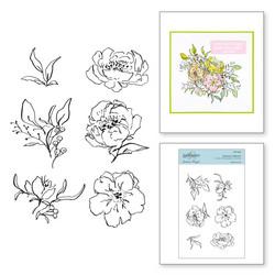 Spellbinders leimasinsetti Beauty in Bloom