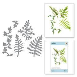 Spellbinders stanssisetti Ferns & Ivy