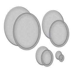 Spellbinders stanssisetti Essential Ovals