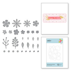 Spellbinders stanssisetti Mini Blooms and Sprigs