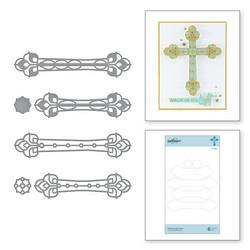 Spellbinders stanssisetti Kaleidoscope Cross