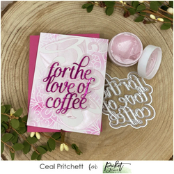Picket Fence Paper Glaze, sävy Pink Carnation