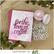 Picket Fence Paper Glaze, sävy Pink Carnation