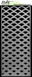 Picket Fence sapluuna Slimline Gradient Scales