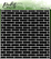 Picket Fence sapluuna English Brick Wall