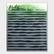 Picket Fence sapluuna Watercolor Brush Strokes