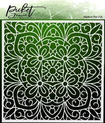 Picket Fence sapluuna Coloring Book